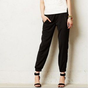Anthropologie {Hei Hei} Black Harper Jogger Pants